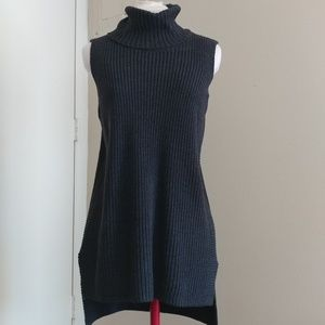 Gray Knit Tunic